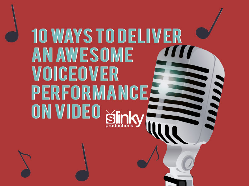 How to deliver a great VO performance