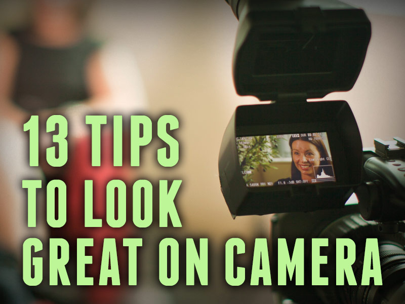 Title image tips how to look great on camera