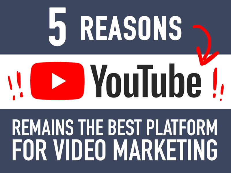 5 Reasons YouTube Remains The Best Platform for Video Marketing featured image.