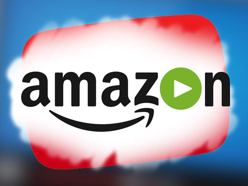Amazon Direct logo over YouTube logo.