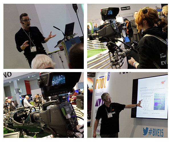 Images from BVE Seminars and Trying out a camera
