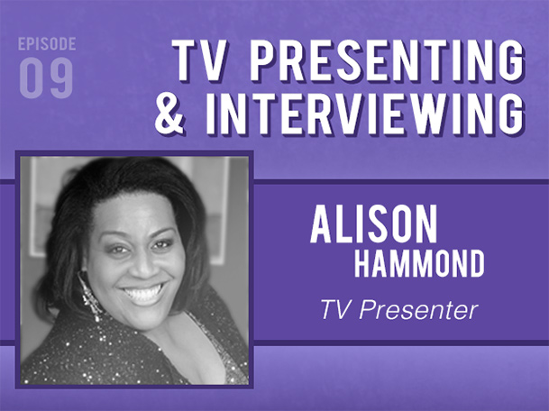 Backlight Podcast - Episode 09 - TV Presenting and Interviewing - With Alison Hammond