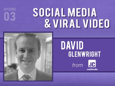 Backlight Podcast - Episode 03 - Social Media & Viral Video - With David Glenwright of JC Social Media