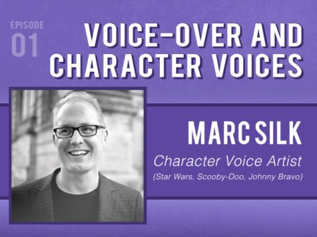 Backlight Podcast - Episode 01 - Voice-over & Character Voices - With Voice Artist Marc Silk