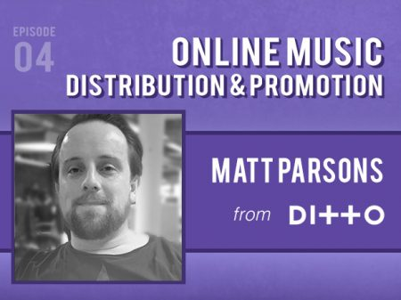 Backlight Podcast - Episode 04 - Online Music Distribution & Promotion - With Matt Parsons of Ditto Music