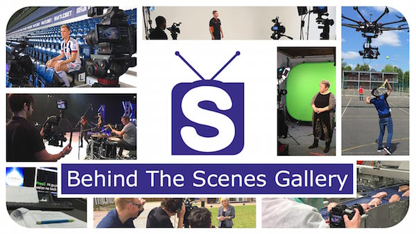 Behind the scenes image gallery from Slinky Productions.
