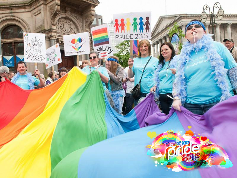 Biggest, Best, Birmingham Pride 2015