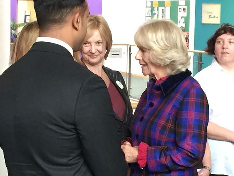 Elmhurst Celebrates 10 Years in Birmingham with a Royal Visit