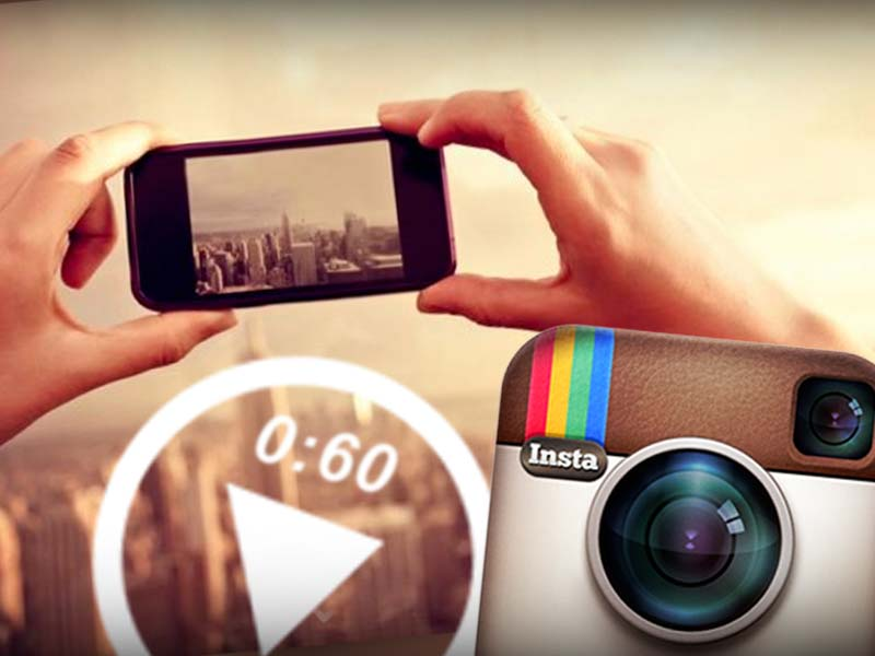 Instagram video 60 second clips.