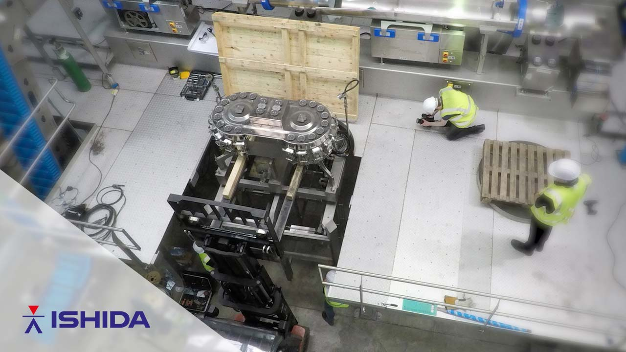 Ishida Europe – Installation Timelapse (Event Promo)