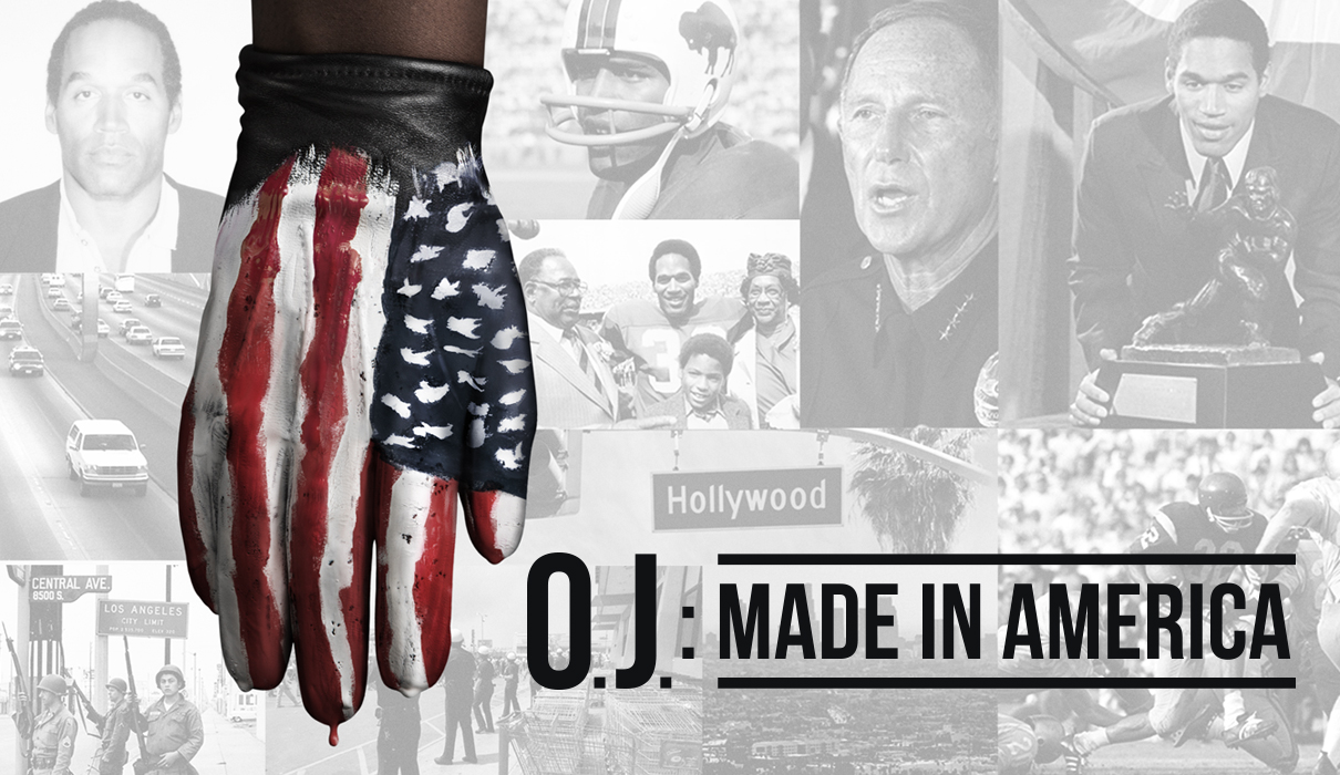 Documentary poster for OJ Made in America