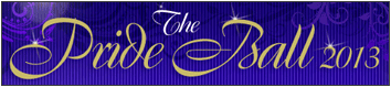 The Pride Ball banner