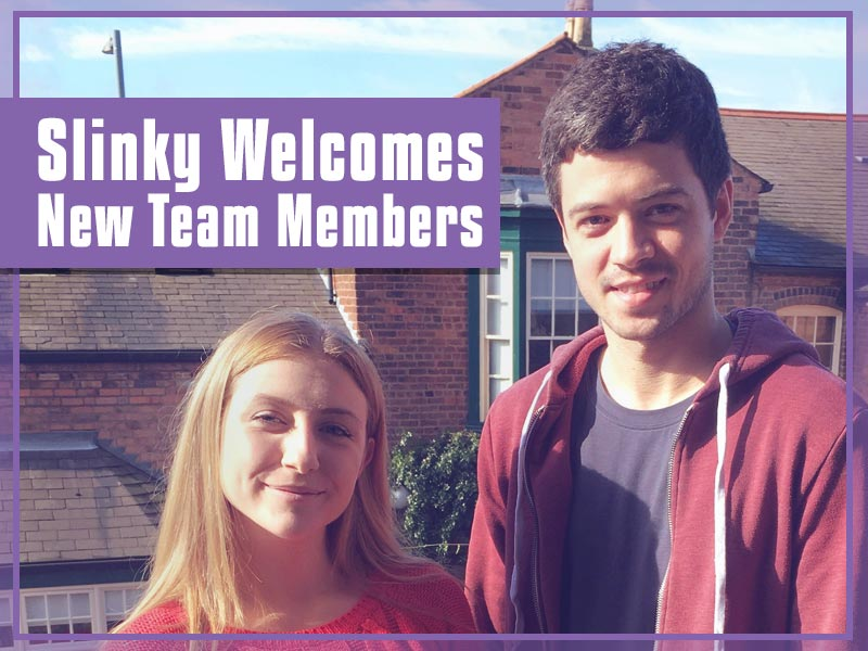 New team members join the Slinky team in 2017.