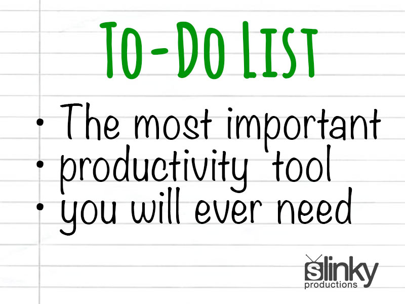 To Do List – The Most Important Productivity Tool You Will Ever Need