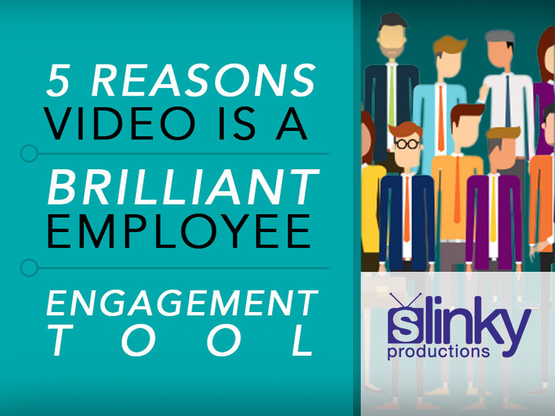 5 reasons video is a brilliant employee engagement tool featured image.
