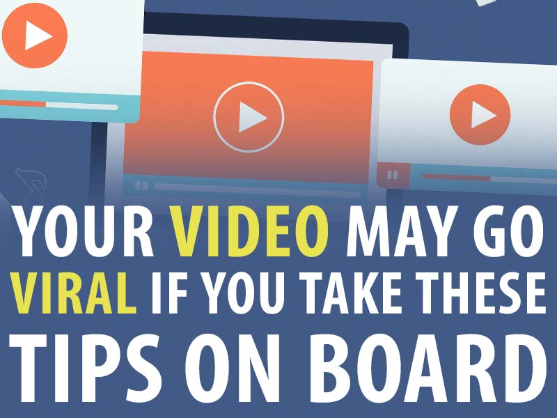 Viral video tips computers play icons.
