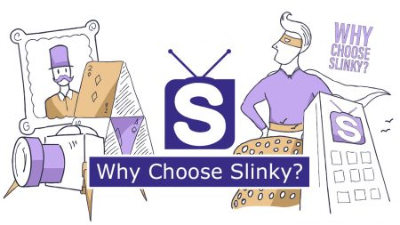 Check out why Slinky Productions is the video production company for you.