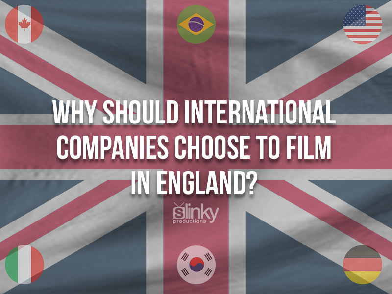 Countries that film in the UK