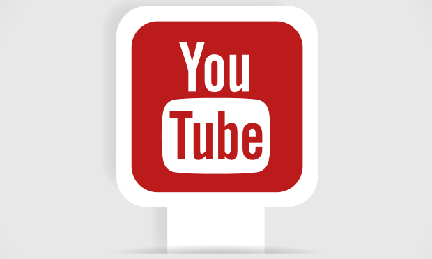 Youtube Social Media Graphic logo