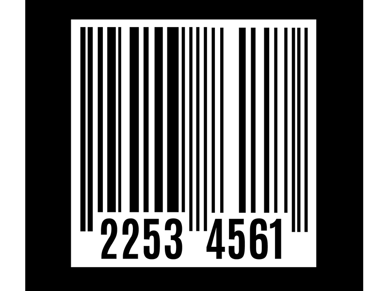 graphic of barcode