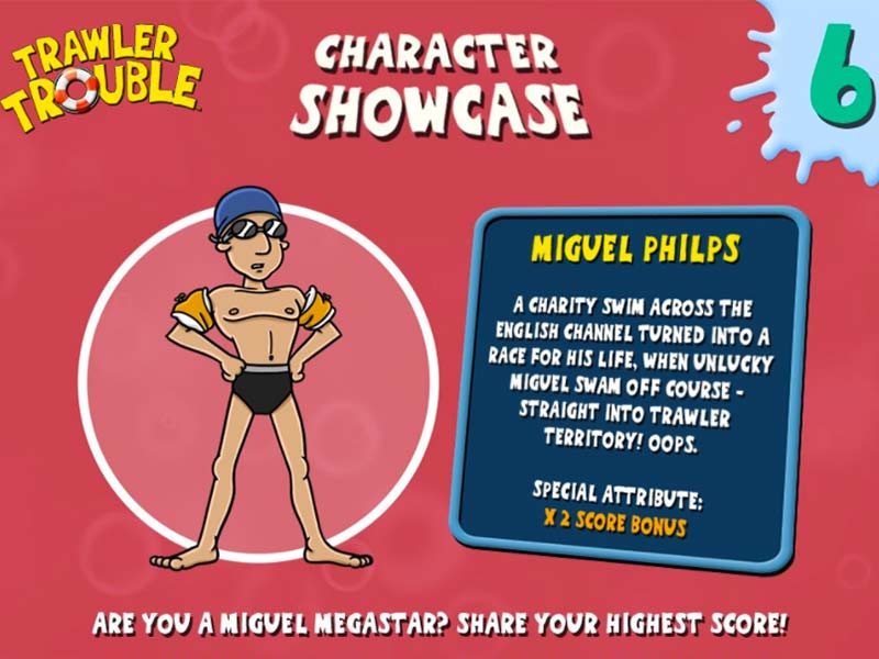 miguel philps character showcase from trawler trouble