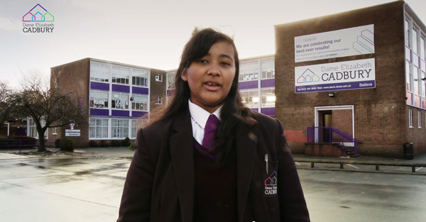 Dame Elizabeth Cadbury School - Curriculum and Options Video