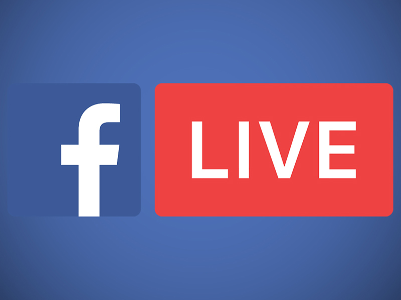 logo of Facebook live