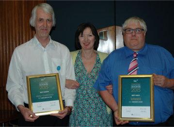 BDA Award Certificate Staff Trade Union Communication Awards 2015