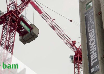 BAM Construct UK – Three Snowhill (Video 3 : Catch Up, Cranes and the BAM Community)