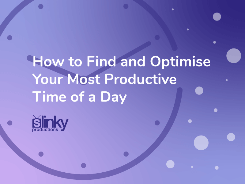 How to Find and Optimise Your Most Productive Time of a Day