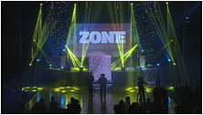 Photo of the Pride Ball 2013, long shot of the stage