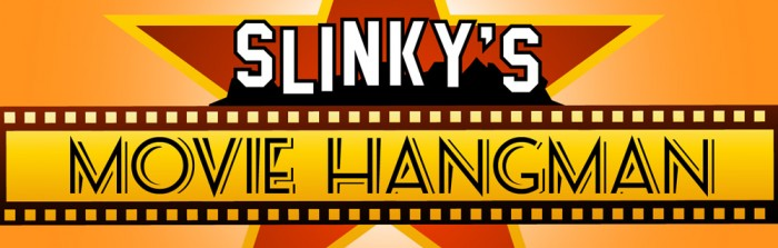 Slinky's Movie Hangman Game - - - Have a break and procrastinate with a little fun web game we developed...